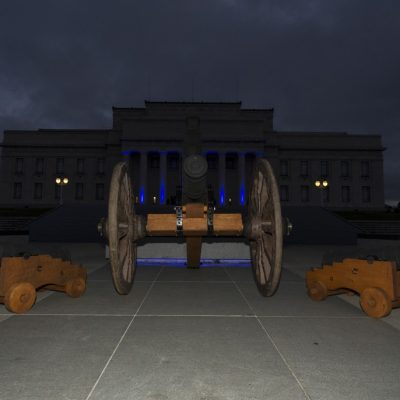 Cannons in front of Museum by Cannons Direct