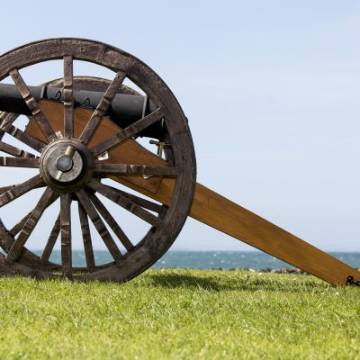 Field gun and carriage from Cannons Direct