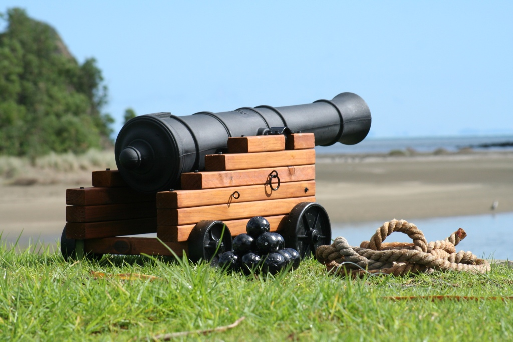 Make your own pirate cannon