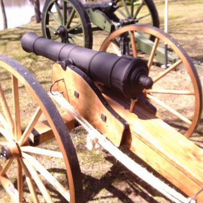 Revolutionary War Field Gun/Cannon Carriage. Cannons Direct