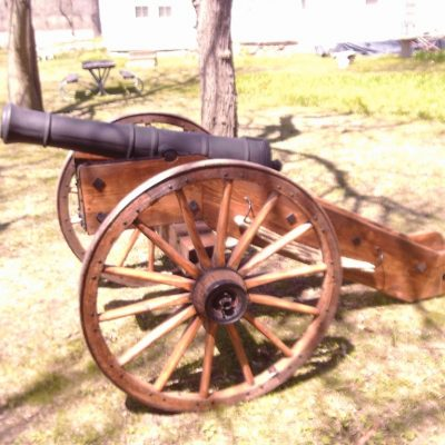 Revolutionary War Field Gun / Cannon Carriage. Cannons Direct