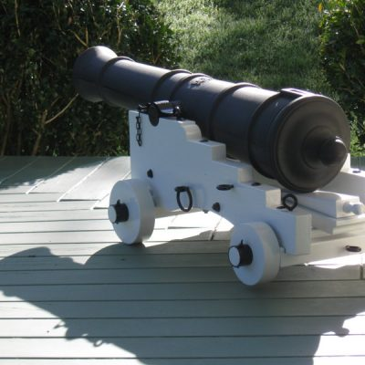 Darren's Ship Cannon in New Zealand