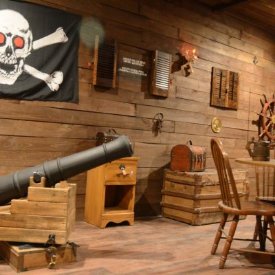 Cannon in The Secret Chambers Escape Room Texas