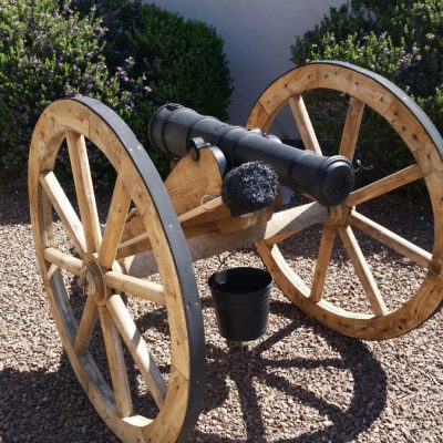 Dale's Full Size Field Cannon in Texas