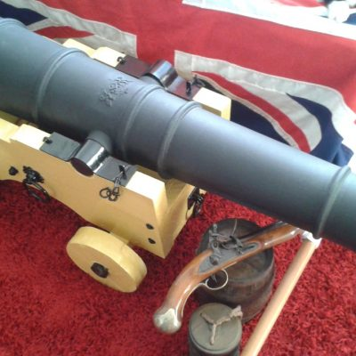 John's Union Jack Cannon in the UK